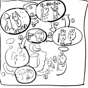 筆者が描いたインランドエンパイヤ の図解イラスト