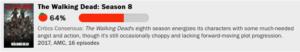 ウォーキング・デッドシーズン8の評価点数